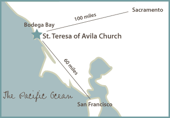 Map of St. Teresa Church